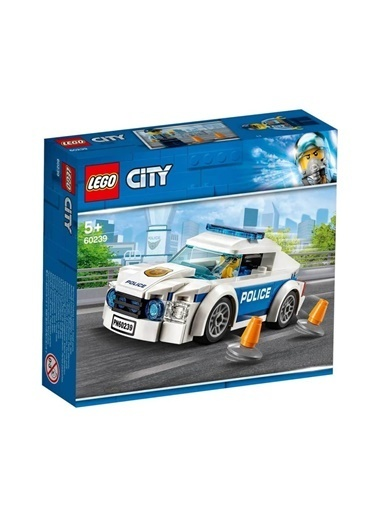 Lego 60239 Lego® City Polis Devriye Arabası / 92 Parça / +5 Yaş Renkli